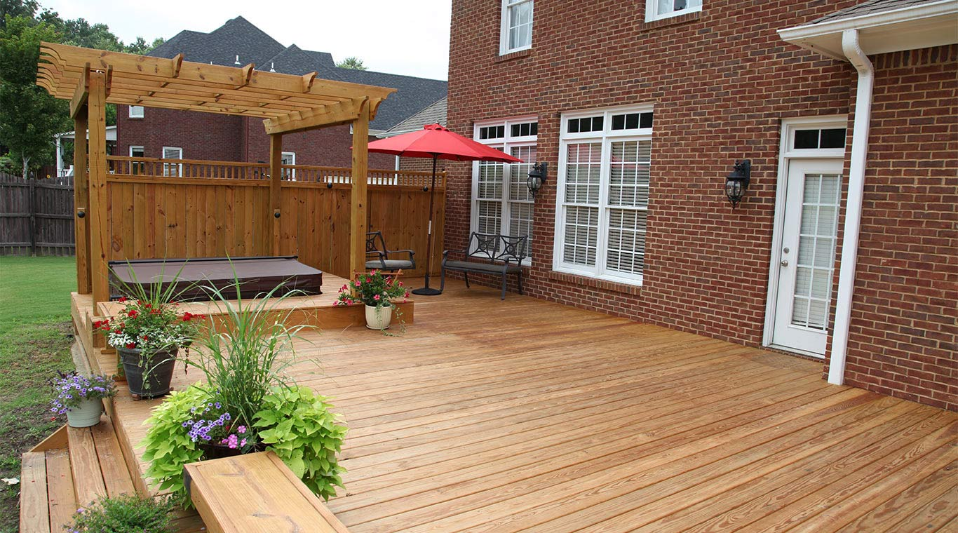 Kiln-Dried (KDAT) Pressure Treated Decking | YellaWood