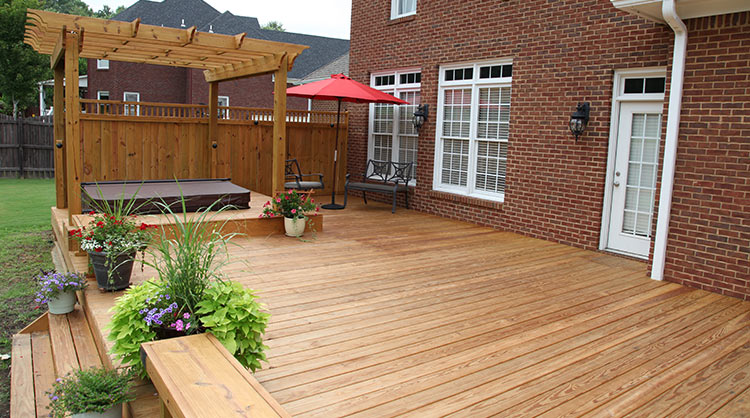 Pressure treated Decking, Decking Boards and Decking