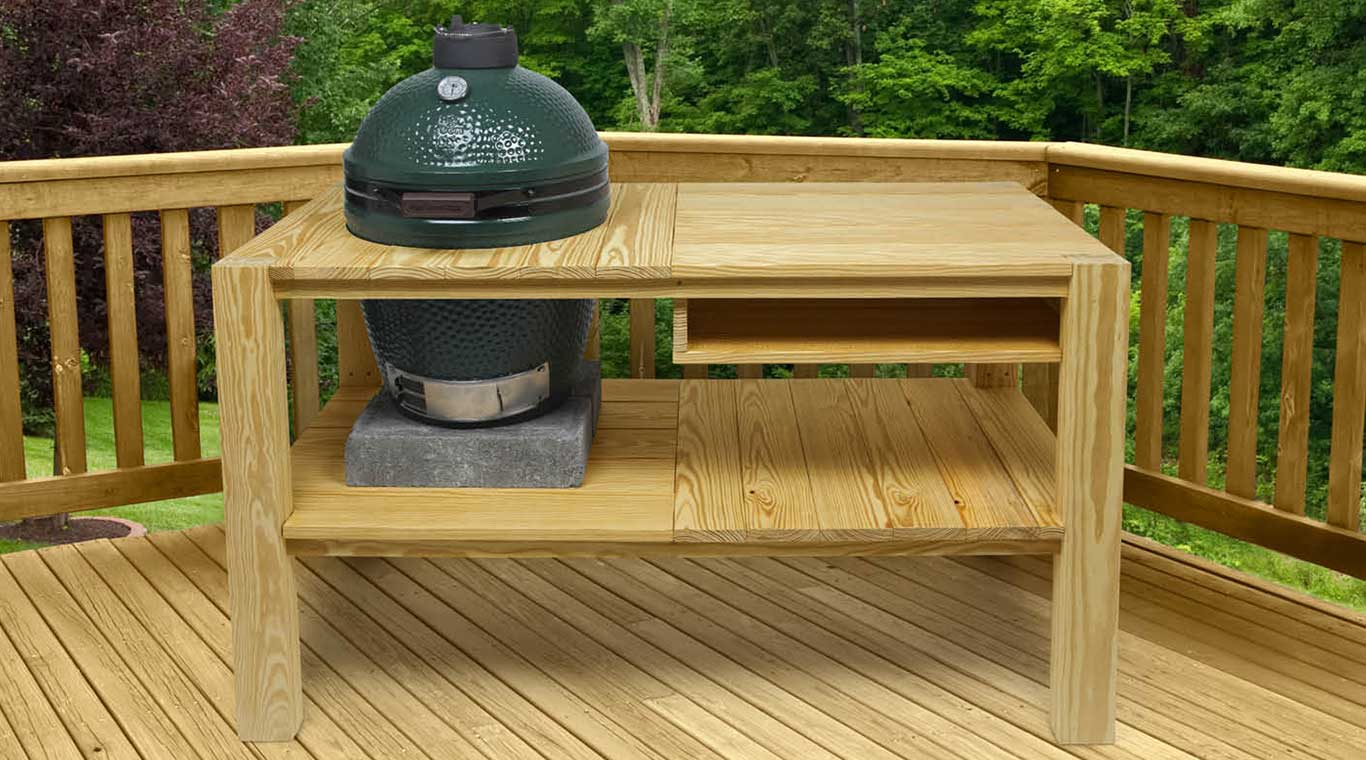 Big Green Egg Table Yellawood