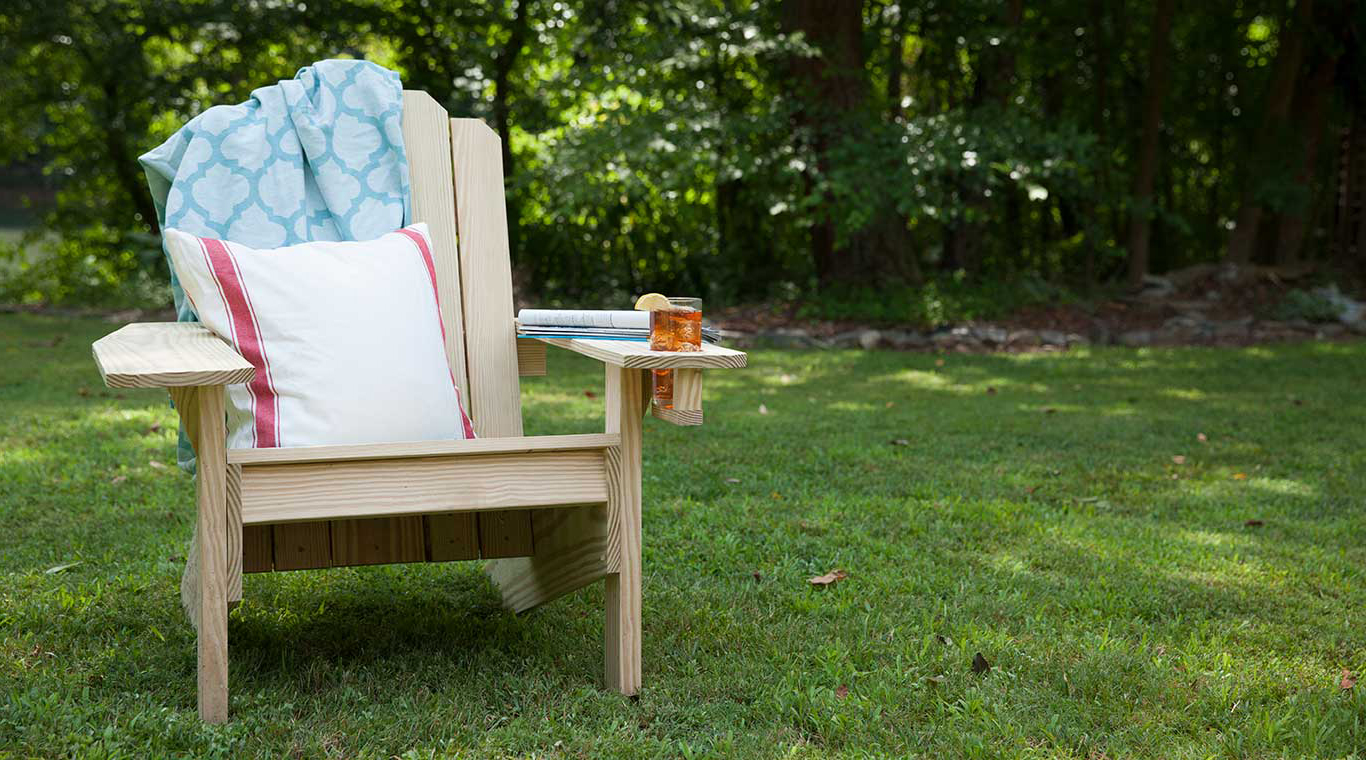 Free Adirondack Chair Plans And Project Yellawood