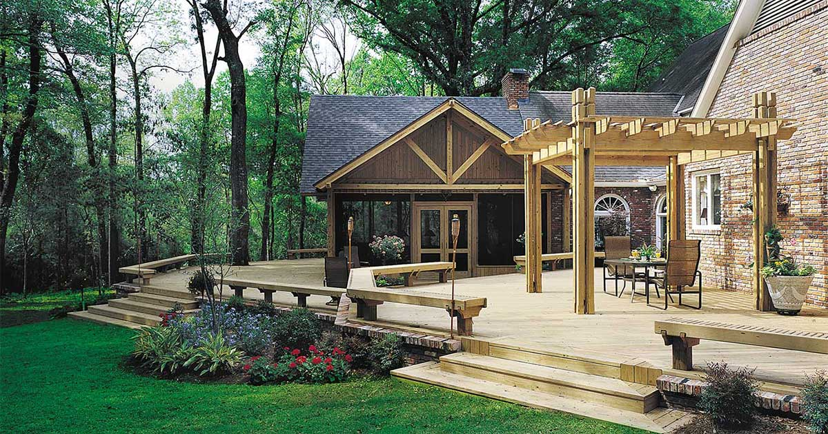 Pressure treated lumber trusted for 40 years | YellaWood